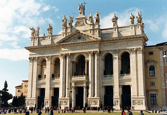 San Giovanni in Laterano.