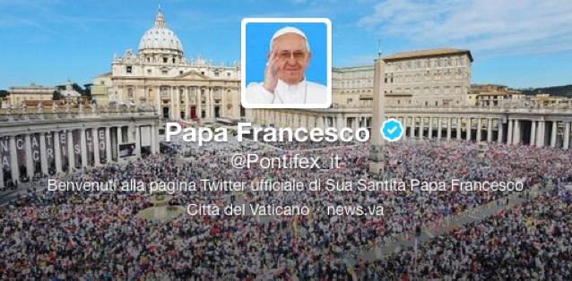 @Pontifex di Ottobre. I Tweet di Papa Francesco.
