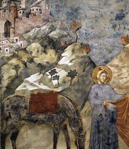 San Francesco e il miracolo del faggio