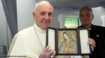 Preghiamo la Beata Vergine di Guadalupe
