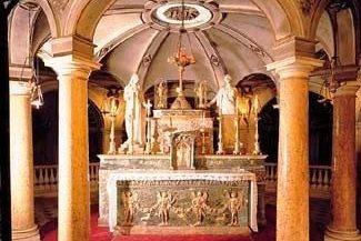 La Rotonda di San Lorenzo e le reliquie di Longino