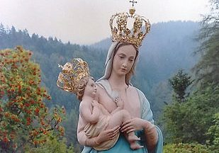 La Madonna delle Grazie patrona degli Sciatori d'Italia