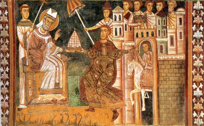 San Silvestro simbolo della nascita dell'era cristiana