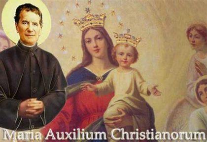 Preghiera a Don Bosco per la famiglia.