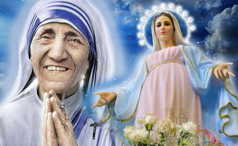Preghiera a Maria di Santa Teresa di Calcutta