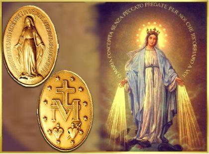 La devozione dei santi alla Medaglia Miracolosa