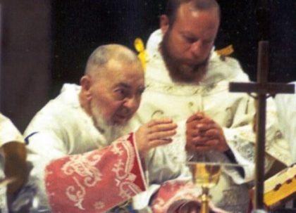 Il video dell'ultima messa di Padre Pio