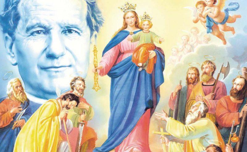 Don Bosco e la Madonna dei tempi difficili
