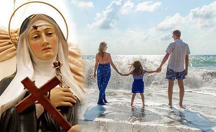 Santa Rita da Cascia, prega per la pace nella nostra famiglia