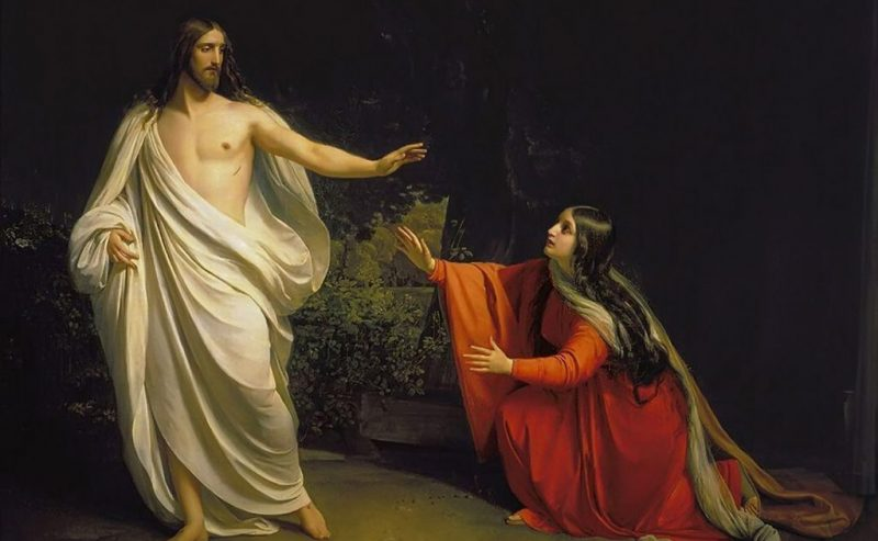 Maria Maddalena, la Santa tenace fedele al suo Maestro