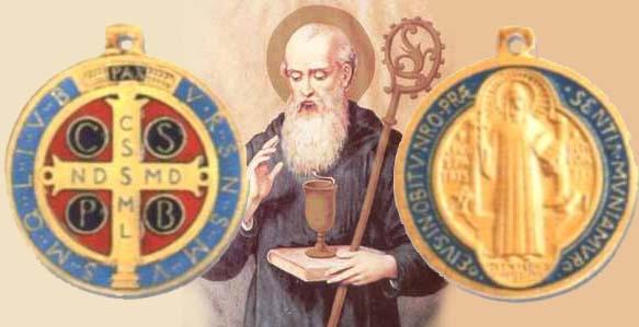 La Medaglia miracolosa di San Benedetto