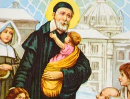 San Vincenzo De Paoli e gli episodi fondamentali del suo percorso di santità