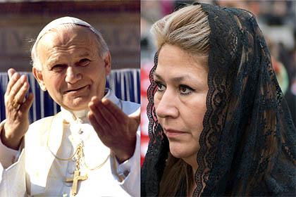 Giovanni Paolo II mi ha guarita: a lui devo la guarigione