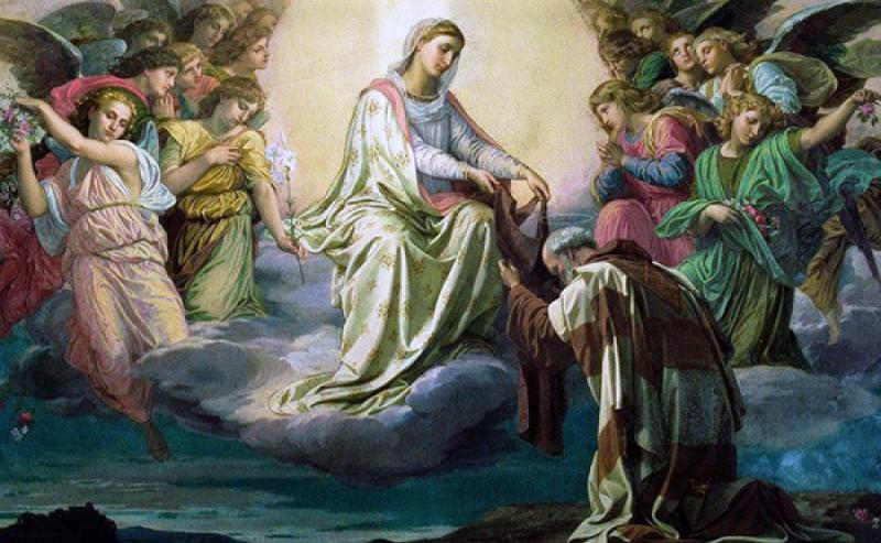 Eventi prodigiosi dello scapolare della Madonna del Carmelo