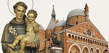 La Basilica di Sant'Antonio a Padova.