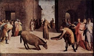 Il miracolo di Sant'Antonio e la mula
