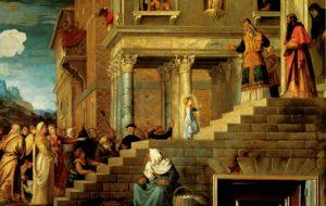 Presentazione di Maria al Tempio - particolare