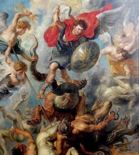 La caduta di Lucifero dal Paradiso