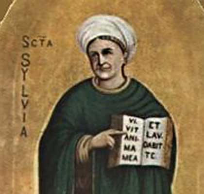 Santa Silvia, esempio di perfetta unione di vita cristiana e cura della famiglia
