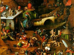 inferno di Hieronymus Bosch