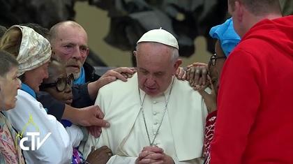 Papa Francesco e il giubileo delle persone socialmente escluse