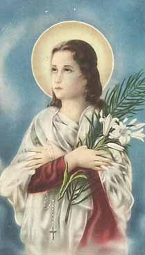 Preghiera a Santa Maria Goretti affinchè protegga le nostre fanciulle