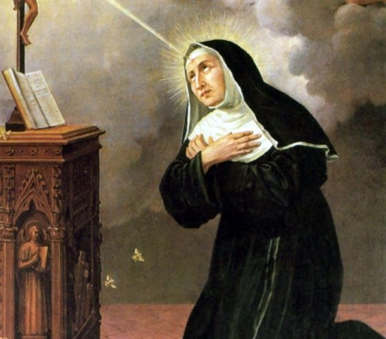 Santa Rita da Cascia la santa della spina e della rosa