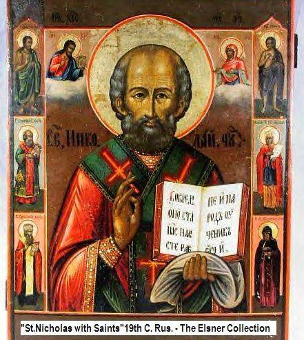 San Nicola il Santo del natale dei bambini