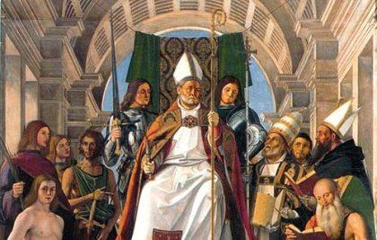 Sant'Ambrogio Vescovo fra i santi più venerati