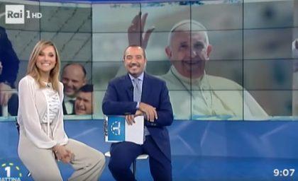 La telefonata a Unomattina di Papa Francesco
