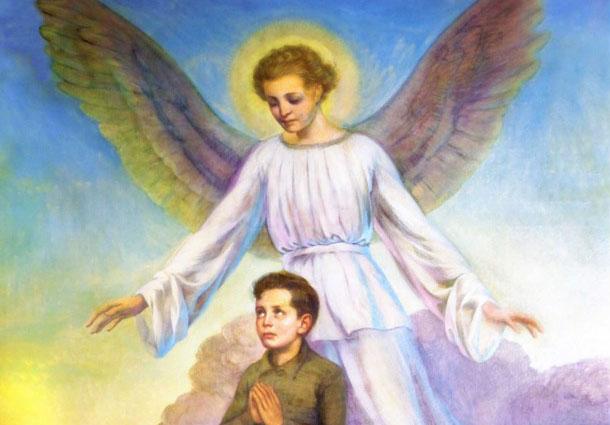 L' Angelo custode nostro protettore e pastore verso la vita eterna