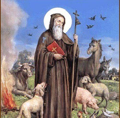Sant'Antonio Abate ingannatore del Diavolo e Patrono degli animali domestici