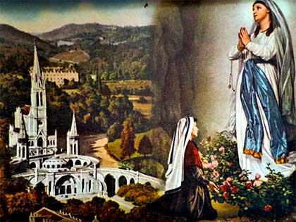 Bernadette e i messaggi della Madonna di Lourdes
