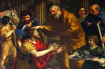 La Potenza della Grazia Divina testimoniata dalla conversione di San Paolo