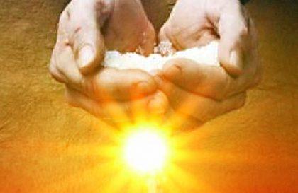 Papa Francesco e la luce del Mondo e il sale della terra