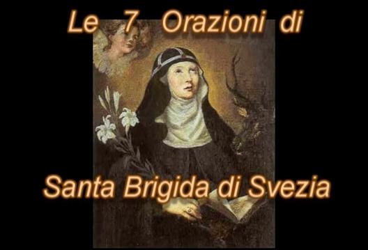 La Preghiera delle 7 Orazioni di Santa Brigida