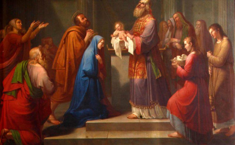 Presentazione di Gesù al Tempio, riflessioni di Papa Francesco