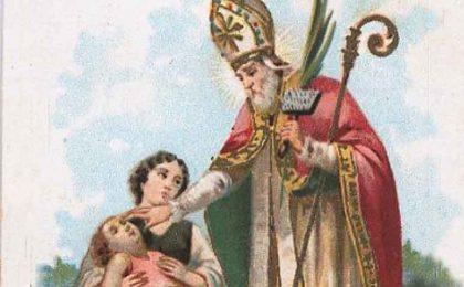 San Biagio: protettore dai mali della gola