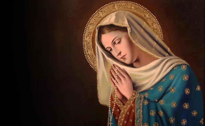 Preghiera a Maria Santissima prima di dormire