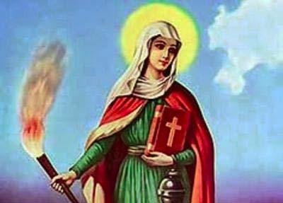Santa Marta protettrice delle casalinghe apostrofata da Gesù