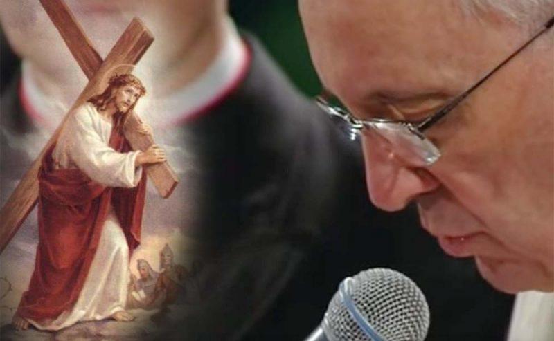 Preghiera di Papa Francesco a termine della Via Crucis