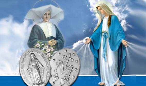 Una Medaglia Miracolosa dono del Cielo