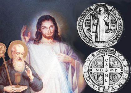 La Croce di San Benedetto e la potente preghiera su di essa incisa