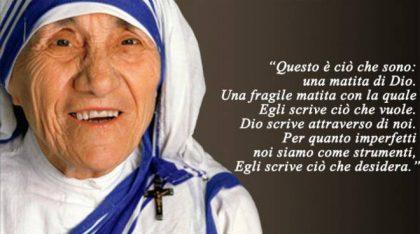 La matita e Madre Teresa