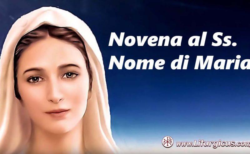Il Santissimo Nome di Maria