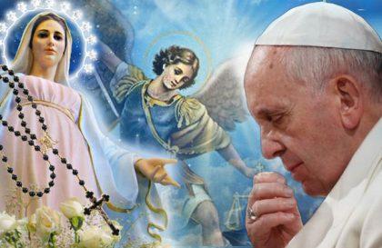 La speciale preghiera contro il diavolo di Papa Francesco per la protezione Chiesa