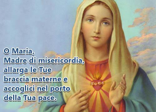 A Maria madre della Misericordia