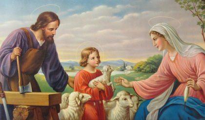Gesù, Maria e Giuseppe voi con fiducia preghiamo, a voi con gioia ci affidiamo. Preghiera alla Santa Famiglia recitata da Papa Francesco