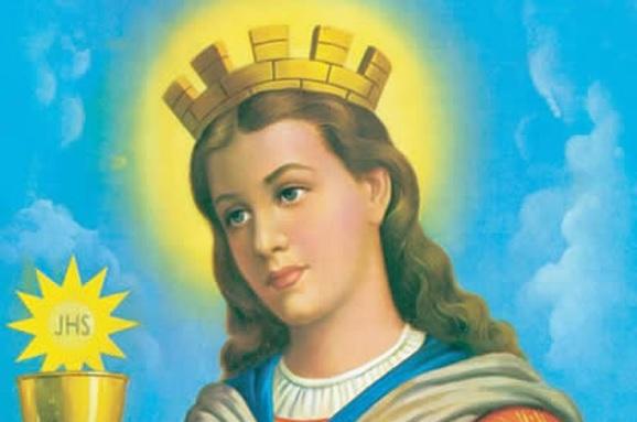Preghiera a Santa Barbara patrona dei Vigile del Fuoco