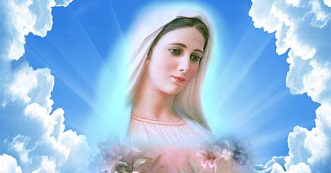 Preghiera del Mattino alla Vergine Maria.